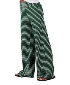 Love this Hunter Stripe Margo Pants - Plus Too on #zulily! #zulilyfinds