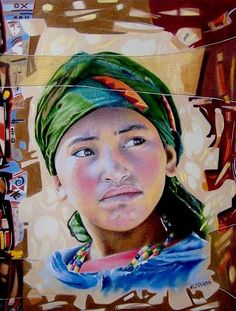Artistes ›     ZEKARA Noureddine ›     dessin : La Bédouine