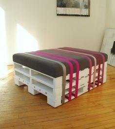pallet inspiratie   Mooi pallet meubel Door iwood