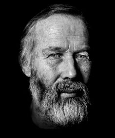 Love the contrast!    Chris Bonington - Mountaineer ©byronedwards