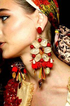 Fashion with style and attitude ®: Maxi Brincos: continuam em 2014!