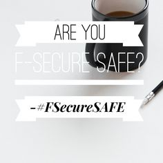 Do you feel SAFE with your Online Security? #FSecureSAFE http://kellysthoughtsonthings.com/f-secure-safe/ #ad