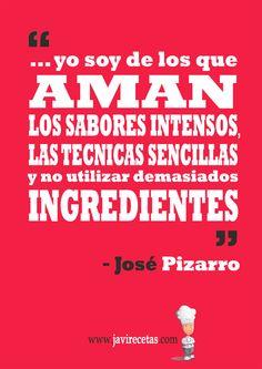 Os dejo con la frase de la semana!!!  http://www.javirecetas.com/gastronomia/yo-soy-de-los-que-aman-los-sabores-intensos/