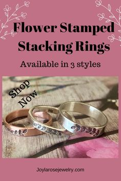 Thumb Ring Sterling Silver - Flower Stamped Ring - Silver Stacking Rings. Shop now at Joylarosejewelry.com. #etsy #silver #minimalist #silverstackingring #flowerstampedring Sterling Silver Flowers, Sterling Silver Rings, Celebrity Shoes, Bubble Wrap Envelopes, Anthropologie Shoes, Flower Stamp, Thumb Rings, Hand Stamped Jewelry, Casual Jeans