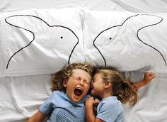 Best Bunnies Pillowcase Set   #Xenotees