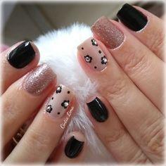 Acrylic Nail Designs, Nail Art Designs, Acrylic Nails, Nail Polish Style, Chic Nails, Geometric Nail, Flower Nail Art, Simple Nail Designs, Professional Nails