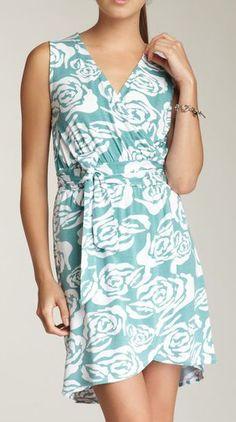 Catalina Faux-Wrap Dress