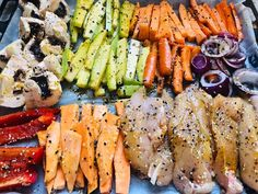 Legume la cuptor cu piept de pui Romanian Food, Tuna, Diabetes, Meal Prep, Bbq, Food And Drink, Healthy Eating, Fish, Meals