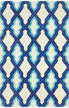 nuLOOM Blue Petra   Contemporary Rugs
