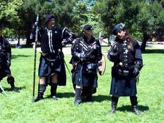 Weapons Demonstration, Scottish Games 2010, St Andrew Noble Order of Roy...
