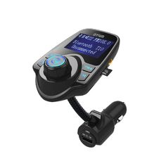 FM Transmitter, Otium® Bluetooth Wireless Radio Adapter Audio Receiver Stereo Music Modulator Car Kit with USB Charger, Hands Free Calling for Smartphones, Tablets, TF Card, MP3 and More. Buy Now: http://amzn.to/2avrF7z