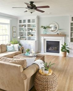 Cozy Coastal Living Room Furniture Decor Ideas