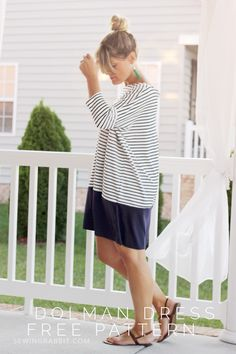 DIY: dolman dress