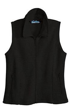 c750968bcb80 TriMountain Womens Peak Performers AntiPilling Vest 7020 Crescent Black  XLarge   Check this awesome product by