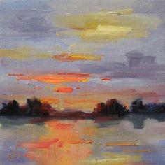 $1 TOM BROWN ORIGINAL OIL PAINTING, SUMMER STUDIO SALE, painting by artist Tom Brown