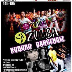KANJY EVENT PARTY : 4h de folie autour de la danse et du sport (zumba fitness, kuduro et dancehall)