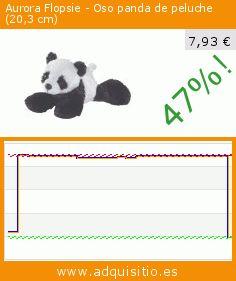 Aurora Flopsie - Oso panda de peluche (20,3 cm) (Juguete). Baja 47%! Precio actual 7,93 €, el precio anterior fue de 14,88 €. https://www.adquisitio.es/aurora/flopsie-oso-panda-peluche