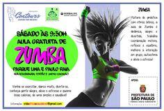 AULAS GRATUITAS DE ZUMBA NO PARQUE LINA E PAULO RAIA (METRO CONCEIÇÃO, JABAQUARA) .:. #academia #alimentação #beleza #bemestar #bodybuilding #bootcamp #coachingdebemestar #emagrecer #estetica #fashion #fitcamp #fitclub #fitness #focoemvidasaudavel #herbalife #moda #musculacao #nutrição #personaltrainer #qualidadedevida #vidaativaesaudavel #vidasaudavel #weightloss #workout