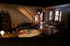 The Bachelors. Carlotta Festival of New Plays. Scenic design by Edward T. Morris. Lighting by Solomon Weisbard. 2012