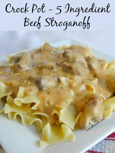 An Easy peasy meal that is kid friendly and Great to serve for company! AND, it can be made as a freezer meal too! Just toss all the raw ingredients, with the exception of the sour cream, into a freezer bag and freeze. When ready to make, toss the frozen ingredients into your crock pot and go!