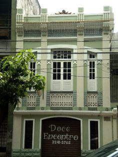 Historic house, Belém, Brazil.