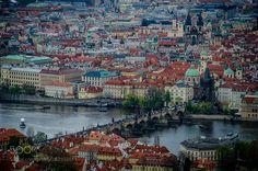 The Charles Bridge. Prague. Czech Republic by Dreamalex