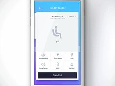 Select your tickets class for Travel product by Fantasy by Gleb Kuznetsov✈