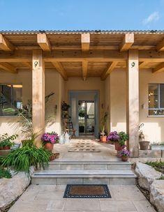 Brown Aesthetic, House Entrance, Backyard Patio, My Dream Home, Beach House, Diy Home Decor, Home Goods, Pergola, New Homes