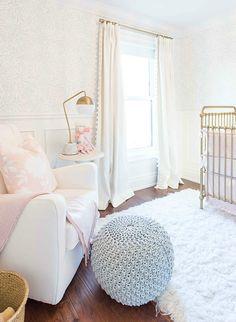 Dormitorio dulce y elegante | DECORACIÓN BEBÉS