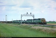 RailPictures.Net Photo: BN 8301 Burlington Northern Railroad EMD SD60 at Alliance, Nebraska by Bill Edgar