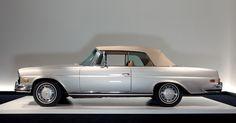 Ralph Lauren's 1971 Mercedes-Benz 280SE 3.5 Convertible (His first extravagance after becoming an independent designer)