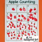 Free Printable Apple Counting Activity for Johnny Appleseed Day