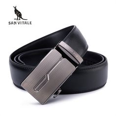 Men's High Quality Automatic Buckle Leather Belt //Price: $17.25 & FREE Shipping //     #Fashion