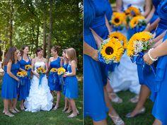 Camp Lejeune Chapel Wedding | LARA + BRIAN Royal Blue and Yellow wedding colors. http://www.paigeoverturfblog.com/2013/10/24/camp-lejeune-chapel-wedding-lara-brian/  Virginia Beach Wedding Photographer. Franklin, Tennessee Wedding Photographer. Nashville Wedding Photographer. Knoxville Wedding Photographer.