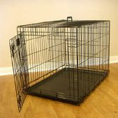 Majestic Pet Products Single Door Folding Dog Crate Cage Large 42in