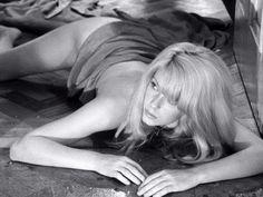 "Catherine Deneuve's character losing her mind in ""Repulsion"", directed by Roman Polanski (1965)."