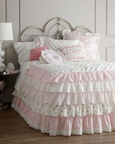 """Camryn"" Bed Linens by Amity Home at Horchow. Oh man I LOVE this!!"