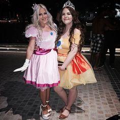 Women Costumes: Princess Peach Costume Adult Halloween Fancy Dress ...