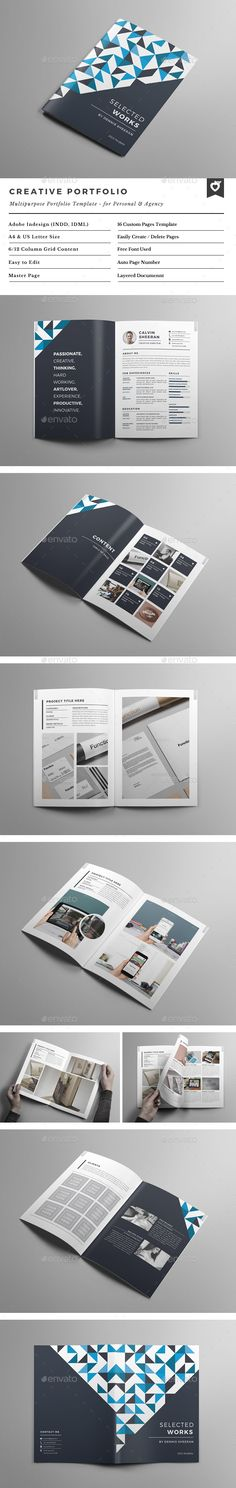 Multipurpose Company Brochure Template Vol 04 Company brochure - company portfolio template