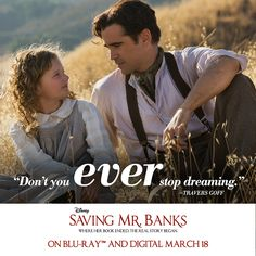 """You can be anyone you want to be."" #SavingMrBanks"