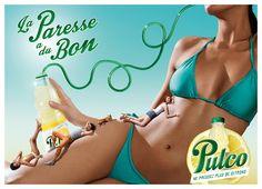 « La Paresse a du bon. »  By Pulco