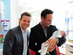 Still prob the cutest photo of ant and dec, why arent they dads yet?- at charity hospital event 2013