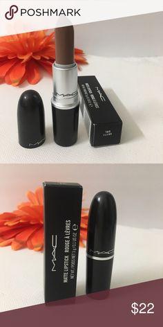 "🎈New Mac lunch Matte lipstick ""Gritty Girl 🎈 💯 💯authentic mac lipstick from the new Matte launch . Gritty Girl"" sofr brown lippy MAC Cosmetics Makeup Lipstick"