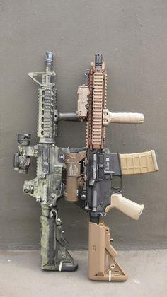 Mk-18 Mod0 and Mod1