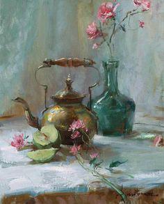 Daniel Gerhartz Painting Still Life, Still Life Art, Mary Cassatt, Camille Pissarro, Gauguin, Art Moderne, Vincent Van Gogh, Beautiful Paintings, Flower Art
