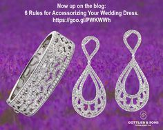 New Blog Post: 6 Rules for Accessorizing Your Wedding Dress