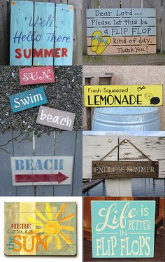Signs of Summer . . .