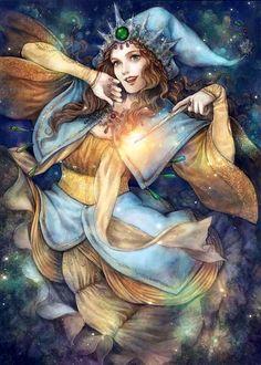Fairy Godmother by jurithedreamer.deviantart.com on @deviantART
