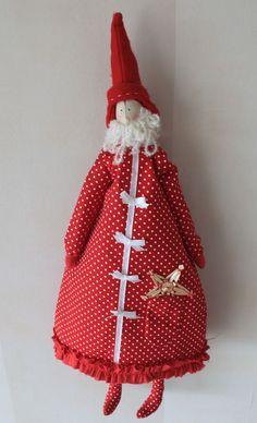 Père Noël à pois
