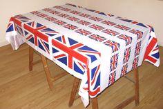 Nappe avec le drapeau Anglais